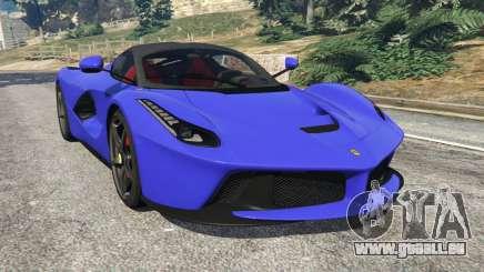 Ferrari LaFerrari 2013 v2.5 für GTA 5