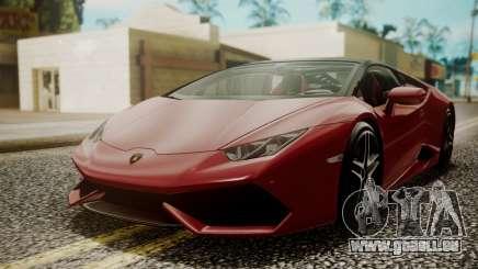 Lamborghini Huracan LP-610 VELLANO pour GTA San Andreas