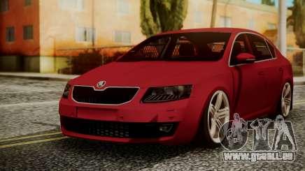 Skoda Octavia pour GTA San Andreas