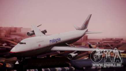 Boeing 747-200 Malaysia Airlines für GTA San Andreas