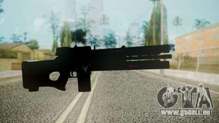 VXA-RG105 Railgun without Stripes für GTA San Andreas