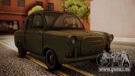 Vespa 400 1958 pour GTA San Andreas