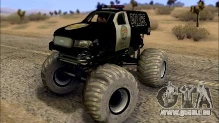 The Police Monster Trucks für GTA San Andreas