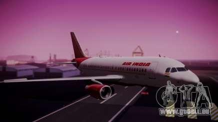 Airbus A319-100 Air India für GTA San Andreas