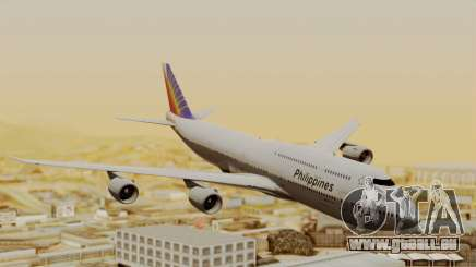 Boeing 747-8I Philippine Airlines für GTA San Andreas