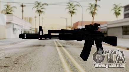 AK-103 with Rifle Dot Aimpoint M2 für GTA San Andreas