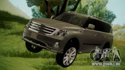 Nissan Patrol IMPUL 2014 pour GTA San Andreas