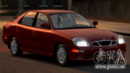 Daewoo Nubira II Sedan SX USA 2000 pour GTA 4