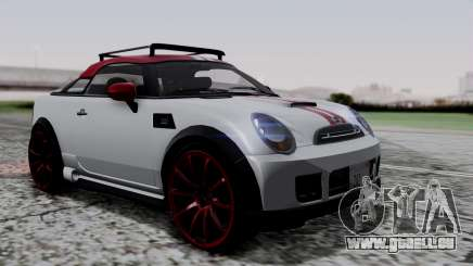 Mini Cooper S Weeny Issi pour GTA San Andreas