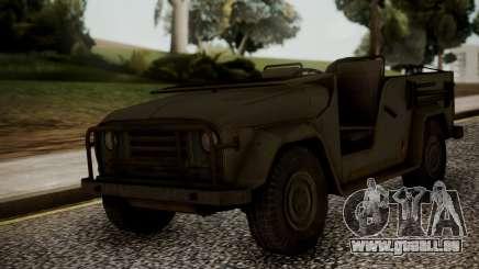 UAZ MGS5 TPP pour GTA San Andreas