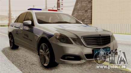 Mercedes-Benz E500 Ministère de l'intérieur, la police de la circulation pour GTA San Andreas