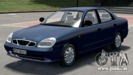 Daewoo Nubira II Sedan S PL 2000 pour GTA 4