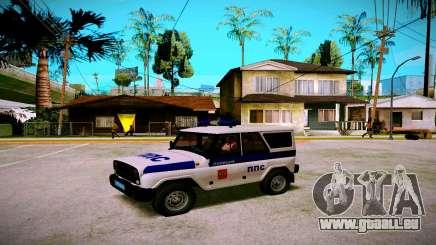 UAZ-chasseur Service PPP pour GTA San Andreas