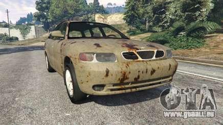 Daewoo Nubira I Wagon CDX US 1999 [Rusty] pour GTA 5