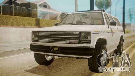 GTA 5 Declasse Rancher XL Police für GTA San Andreas