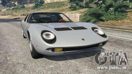 Lamborghini Miura P400 1967 v1.2 für GTA 5