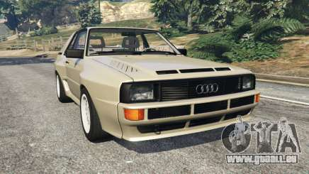 Audi Sport quattro v1.4 pour GTA 5