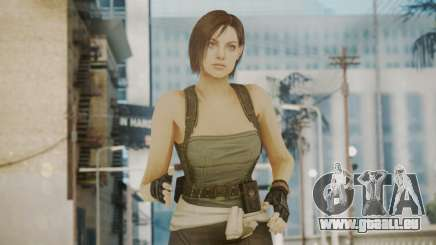 Resident Evil Remake HD - Jill Valentine pour GTA San Andreas