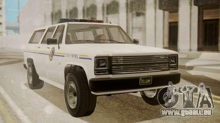 GTA 5 Declasse Rancher XL Police IVF für GTA San Andreas