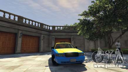 Ford Crown Victoria Taxi v1.1 pour GTA 5