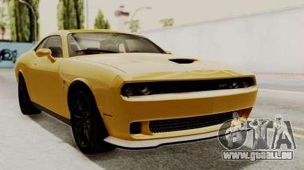 Dodge Challenger SRT Hellcat 2015 IVF PJ pour GTA San Andreas