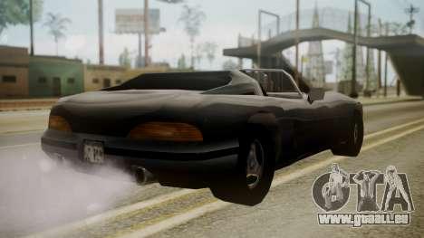 Banshee III pour GTA San Andreas laissé vue