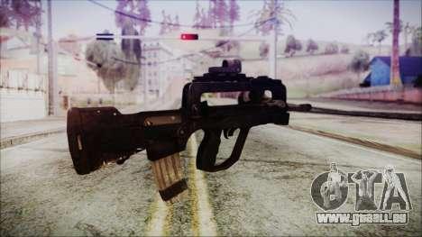 Famas G2 pour GTA San Andreas deuxième écran