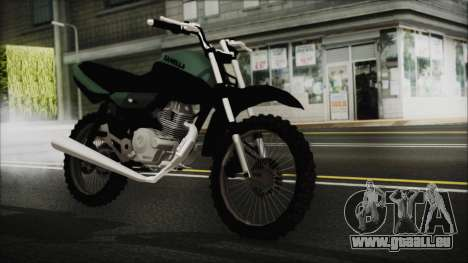 Zanella RX150 Cross für GTA San Andreas