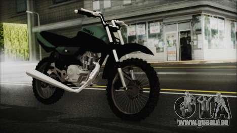 Zanella RX150 Cross pour GTA San Andreas
