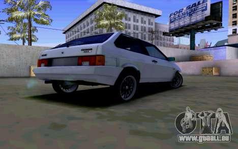 VAZ 2108 V2 für GTA San Andreas rechten Ansicht
