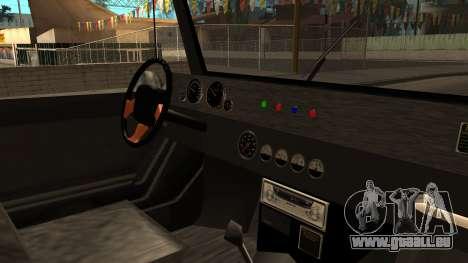 New Mesa Wild pour GTA San Andreas vue de droite