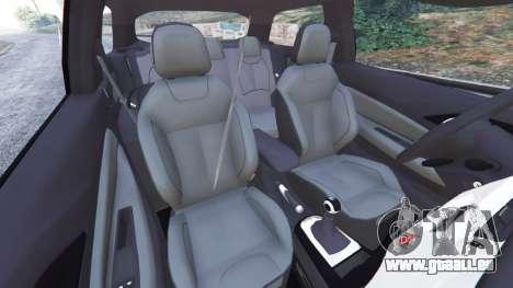 GTA 5 Citroen DS3 2011 droite vue latérale