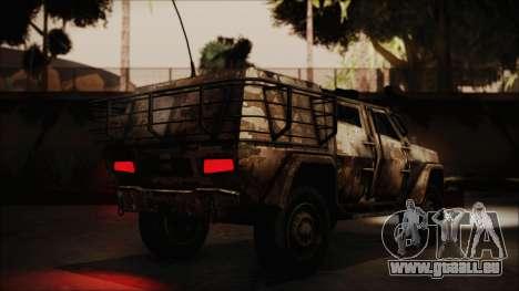 Joint Light Tactical Vehicle pour GTA San Andreas laissé vue
