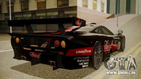McLaren F1 GTR 1998 Day Off für GTA San Andreas linke Ansicht