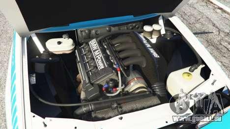 GTA 5 BMW M3 (E30) 1991 [Jeschke] v1.2 hinten rechts