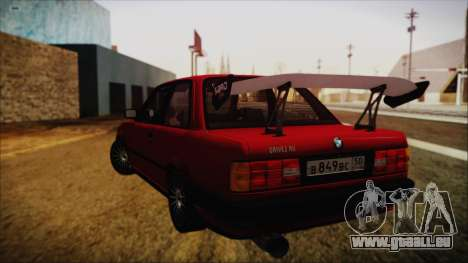 BMW M3 E30 Coupe Drift für GTA San Andreas linke Ansicht