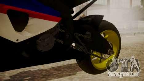 BMW S1000RR Limited pour GTA San Andreas vue de droite