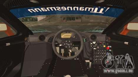McLaren F1 GTR 1998 pour GTA San Andreas vue arrière