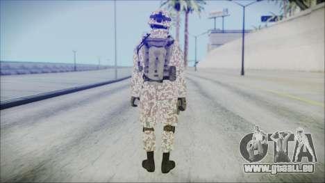 Bundeswehr Desert v1 pour GTA San Andreas troisième écran