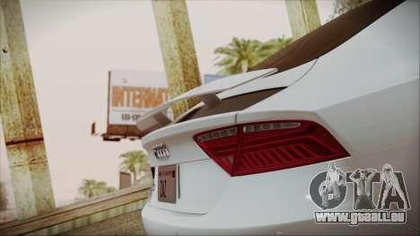 Audi RS7 Sportback 2015 pour GTA San Andreas moteur