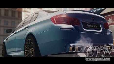 BMW M5 F10 Stock MTA Version für GTA San Andreas linke Ansicht