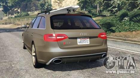 GTA 5 Audi RS4 Avant 2013 hinten links Seitenansicht