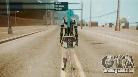 Jinxed Akali pour GTA San Andreas troisième écran