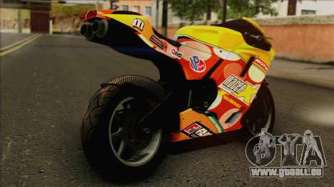 GTA 5 Bati HD pour GTA San Andreas laissé vue