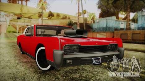 GTA 5 Vapid Chino Custom IVF für GTA San Andreas