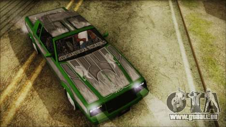 GTA 5 Faction LowRider DLC für GTA San Andreas rechten Ansicht
