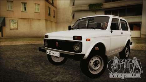 VAZ 2121 Niva 1600 pour GTA San Andreas