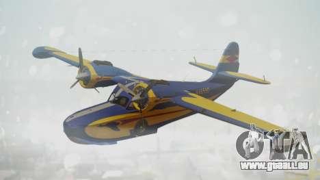Grumman G-21 Goose N48550 pour GTA San Andreas
