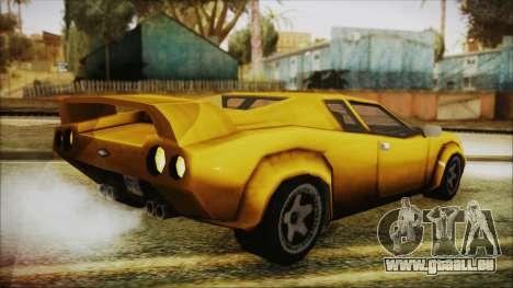 Vice City Infernus pour GTA San Andreas laissé vue