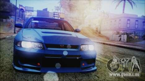 Nissan Skyline R33 Kantai Collection Kongou PJ pour GTA San Andreas